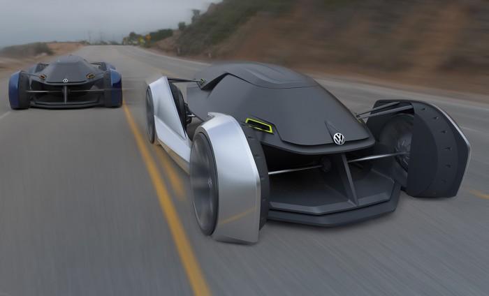 Design by: Humayun Yousofzy – Volkswagen morph – bachelorthesis