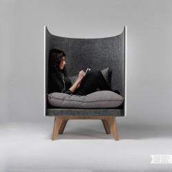 Design by: ODESD2 design bureau (V1 lounge chair)
