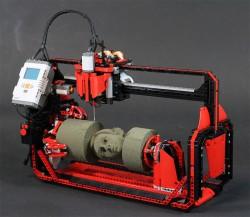 Design by: ARTHUR SACEK – LEGO 360 MILLING MACHINE