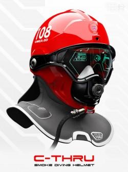 Design by: Omer Haciomeroglu (C-Thru; Smoke Diving Helmet)