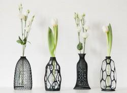 DesignLibero – 3D PRINTED VASES COLLECTION – Photo credits : Claudio Morelli
