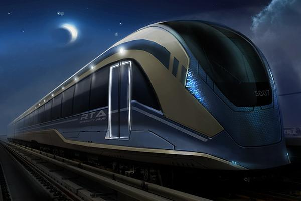 Ognyan Bozhilov – Dubai Subway Trains Design
