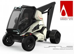 Ufuk Seçgel – Janus – Future Material Handler Excavator Concept