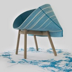 Raw Edges for Moroso – Kenny Chair