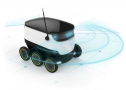 Starship Technologies – Small Cargo-Delivering Robot