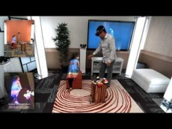holoportation: virtual 3D teleportation in real-time (Microsoft Research) – YouTube
