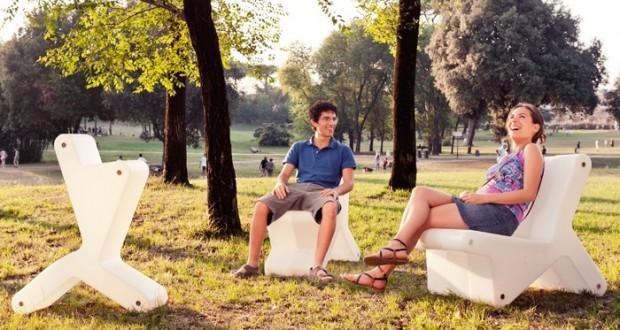 Reinier De Jong – KEER modular chair