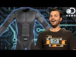 This Virtual Reality Suit Lets You Experience Touch – YouTube