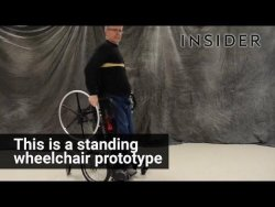 This wheelchair lets paraplegics stand – YouTube