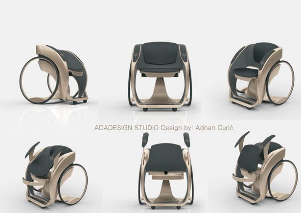 Adnan Curic – Ada Design Studio – modern wheelchair design