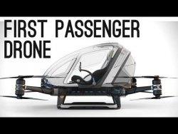 World's First Passenger Drone (Ehang 184) | ColdFusion – YouTube