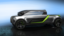 Niko Pesa – Chevrolet Colorado Design Vision