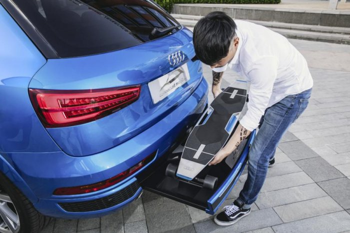 Audi Connected Mobility Concept Car