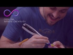 CreoPop, The World's First 3D Pen With Cool Ink – YouTube