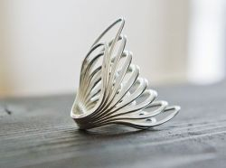 tigdar co. – 3D-Printed Sterling Silver Ring