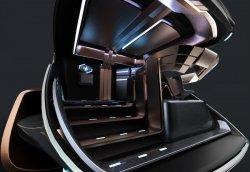 Lucas Sein – Scania Maglev Truck Concept
