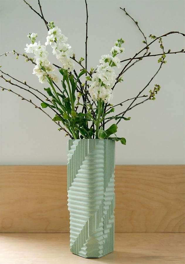 Phil Cuttance – Herringbone vase