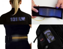 Anders Nelson – Fos – A truly wearable, Bluetooth LED display system