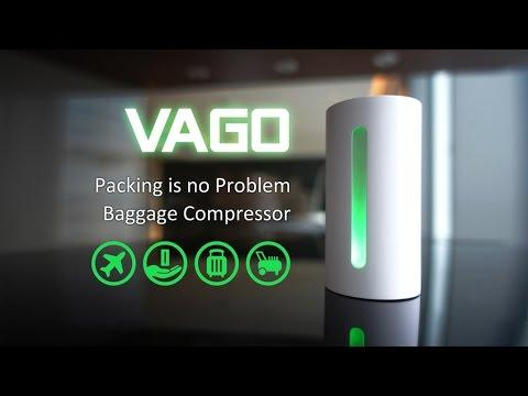 VAGO-Best travel tool.Give you more than 50% luggage space! by CREATION CELL – YouTube