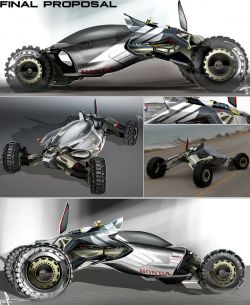 Darby Jean Barber – Honda Synergy Concept Off-Road Buggy