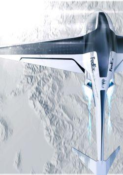 Raphael Doukhan – FedEx Drone concept