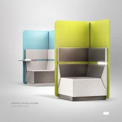 Radek Nowakowski – COVER soft seating system