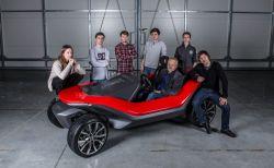 """Josef Ludvík Böhm, Jaroslav Prchal, Radek Štěpán – """"Yo!"""" student electric vehicle"""