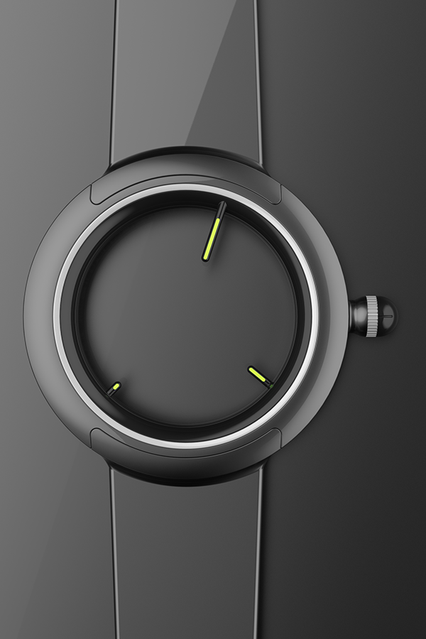 Row Zero – Simon Williamson – ASIG – nohero/nosky Concentric D. Wrist Watch