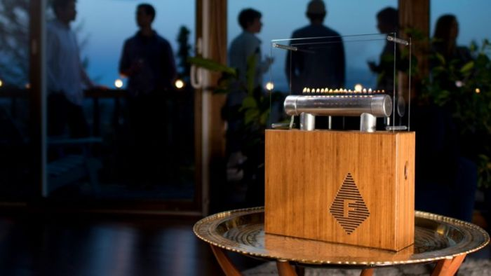 Fireside Audiobox – Light your music on fire – Kickstarter