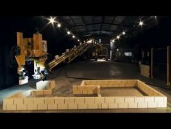 Fastbrick Robotics Time lapse