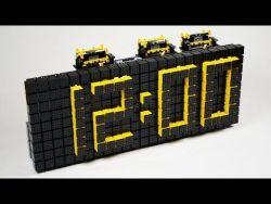 Time Twister 4 – LEGO Mindstorms Digital Clock