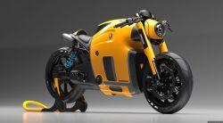 Burov art – Koenigsegg motorcycle