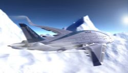 "Oscar Viñals – AWWA ""Sky Whale"" Concept Plane"