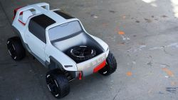 Jason McGinnity – Tesla Allterrain Concept | 1:4 Scale Model