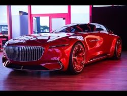 Vision Mercedes-Maybach 6 Concept Car First Look – 2016 Monterey Car Week