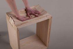Ewa Dulcet – Wooden stool