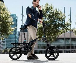 Peugeot Design Lab – PEUGEOT EF01 – The World's First Folding E-Bike