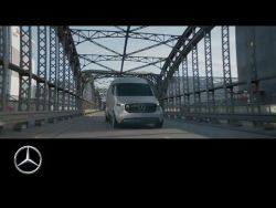 World premiere of the Vision Van research vehicle – Mercedes-Benz Original