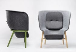 Benjamin Hubert – De Vorm | Interior Products | PET felt furniture – Pod
