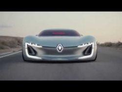 Renault TREZOR: an electric GT