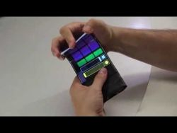 WhammyPhone: Bending Sound with a Flexible Smartphone