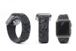 Maria Cichy – Polygon wrist band for Apple Watch
