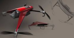 yuyang nie – Aircraft Design-Sketch