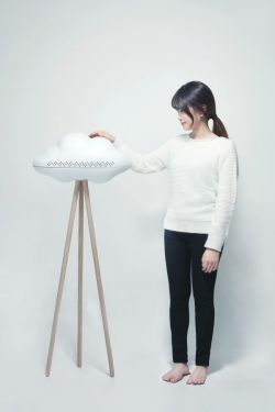 Yeonkyung Jeong 정 연경 – CLERD – Cloud-shape Air Conditioner