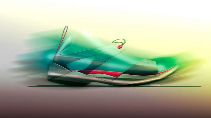 Bruno Kambara – Footwear Sketches