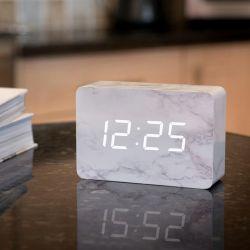 Gingko Electronics – Brick Marble Brick Click Clock