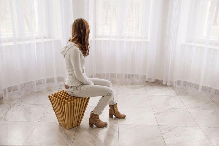 Kamila Sęk – Hedgehog stool