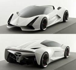 Mateusz Wowk – Lamborghini Inferno concept