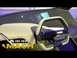 BMW Unveils Hologram Dashboard At CES