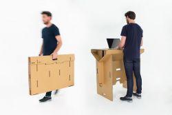 Oliver Ward, Fraser Callaway, Matt Innes – Refold's Portable Cardboard Standing Desk